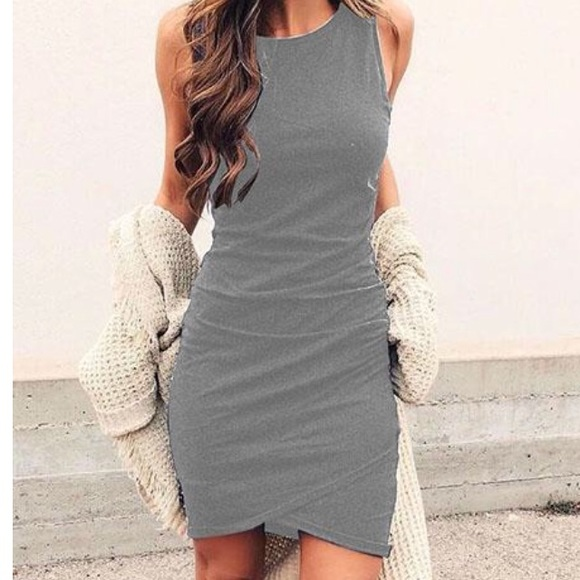 Ruched Sheath Dress